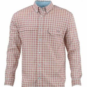 Huk Performance Tide Point Woven Plaid Checked